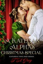 Kategan Christmas erotic romance by T. A. Grey