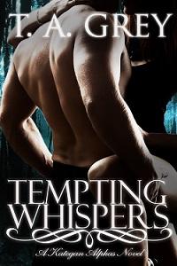 Tempting Whispers a werewolf erotica novel