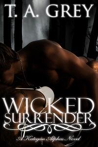 Wicked Surrender a werewolf romance novel